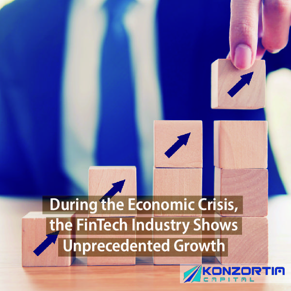 During the Economic Crisis, the FinTech Industry Shows Unprecedented Growth
