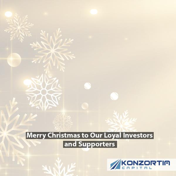 Merry Christmas to Our Loyal Investors and Supporters