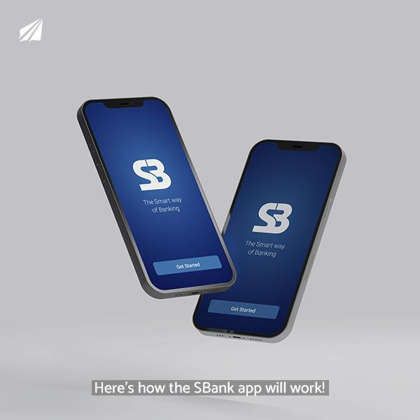 Here's how the SBank app will work!